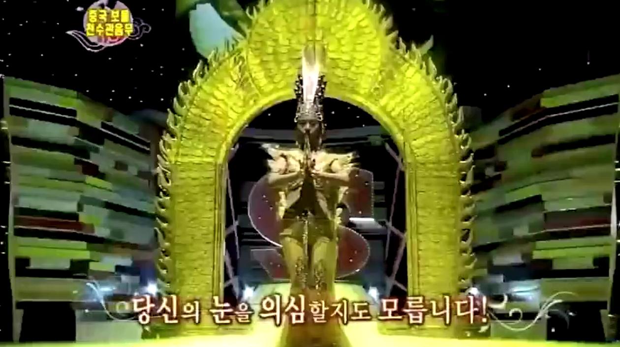 韩国人第一次见中国的千手观音,表情是这样的!完了马上千手观音也是韩国的了!