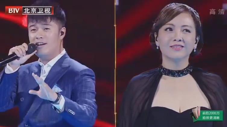 陈赫邓萃雯现场演绎80版射雕主题曲《铁血丹心》,惊艳全场!