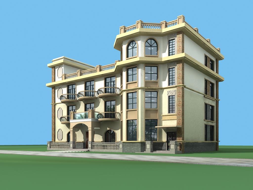 现如今,自建房别墅越来越普遍了,农村也开始向城市化发展了,所以很多人就会对自建房别墅比较感兴趣。如果是你的话,弄中意的农村自建房是什么样的?如果是你的话,你会选择建多少平米的自建房别墅呢?如果是你的话,你会选择什么样风格的自建房别墅呢?从100平到300平农村自建房,你更中意哪套农村自建房别墅呢?有喜欢的赶紧收藏啦!   1、占地面积90平方米,二层独栋别墅,砖混结构。         本户型为二层独栋别墅,砖混结构,占地面积90平方米,建筑檐口高度6.