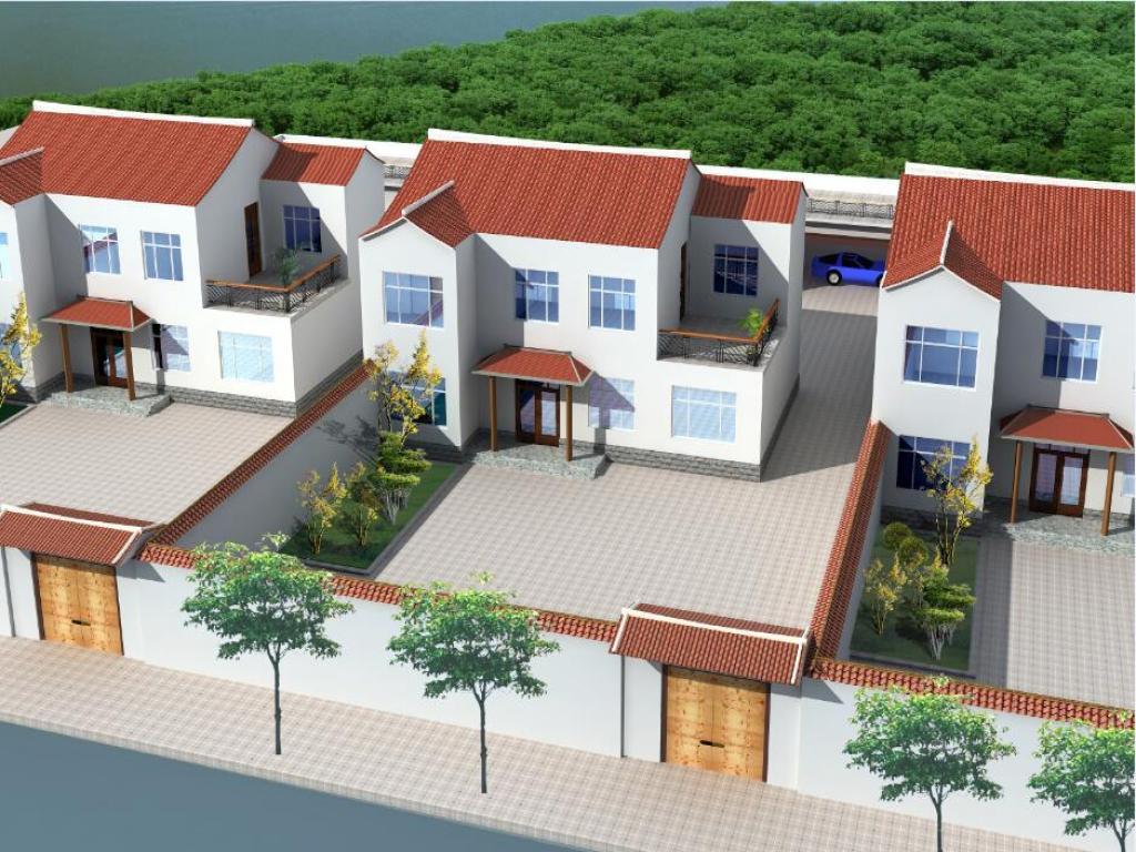 又火啦!这套农村自建房设计图让北漂一族想要回农村!