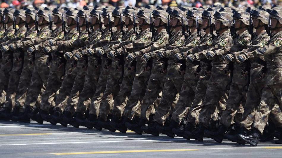 2017年俄羅斯勝利日紅場閱兵,這陣勢絲毫不輸中國閱兵!