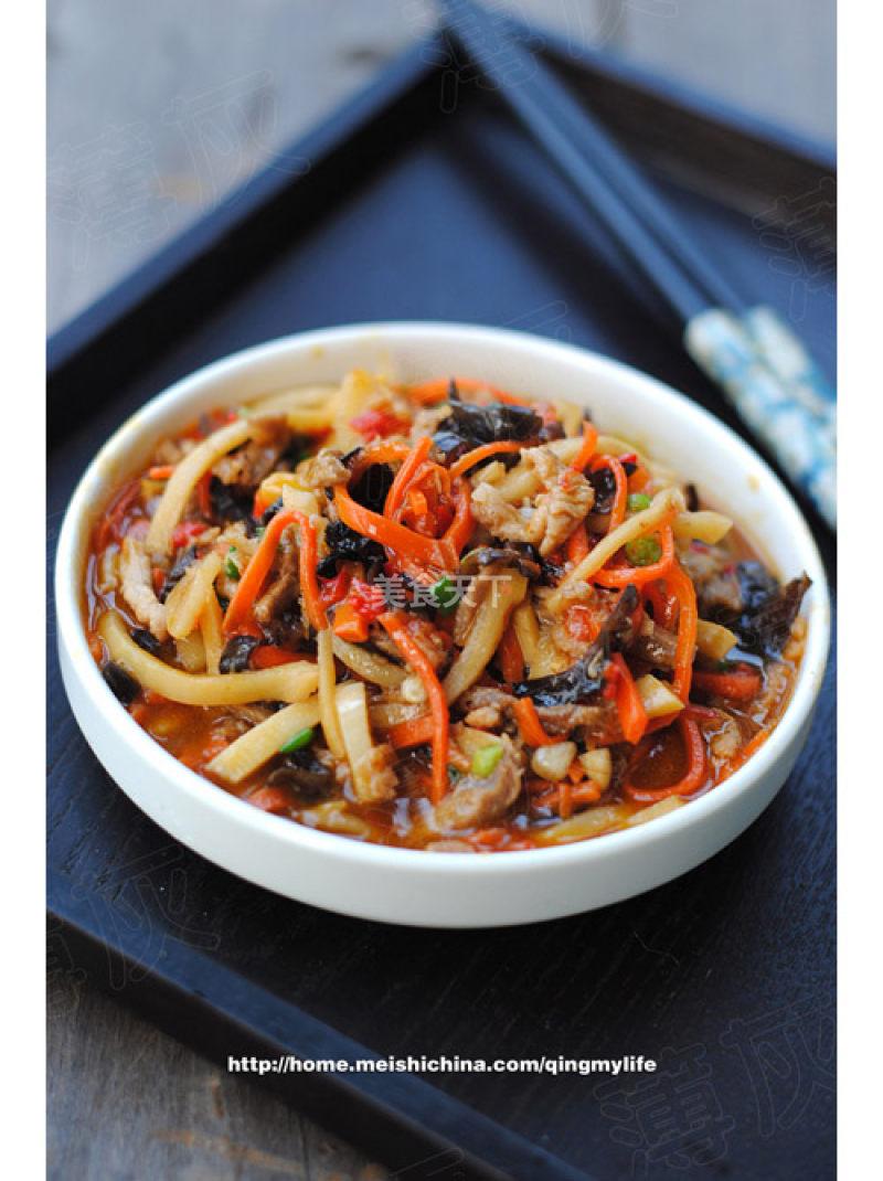 鱼香肉丝的家常做法,美味下饭,简单易学!