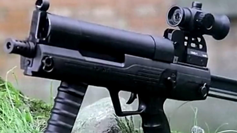 中国推出滚筒式冲锋枪,安全可靠性能优良!